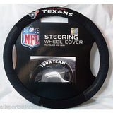 NFL Houston Texans Poly-Suede Mesh Steering Wheel Cover by Fremont Die