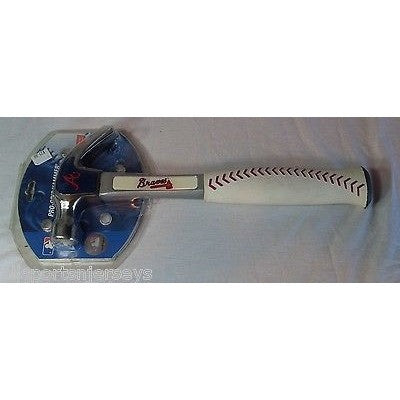MLB Atlanta Braves Pro-Grip 16 oz Hammer by Team ProMark