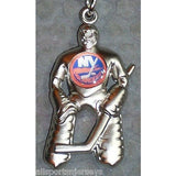 NHL New York Islanders Hockey Player Key Chain Logo on Chest CONCORD Ind.