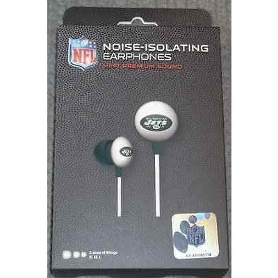 NFL iHip Team Logo Earphones New York Jets