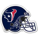 NFL 12 INCH AUTO MAGNET HOUSTON TEXANS HELMET