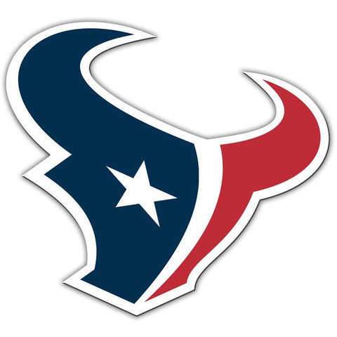 NFL 12 INCH AUTO MAGNET HOUSTON TEXANS CURRENT LOGO