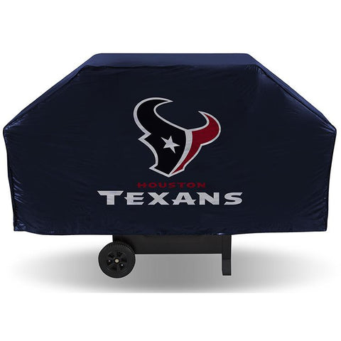 NFL Houston Texans 68 Inch Vinyl Economy Gas / Charcoal Grill Cover