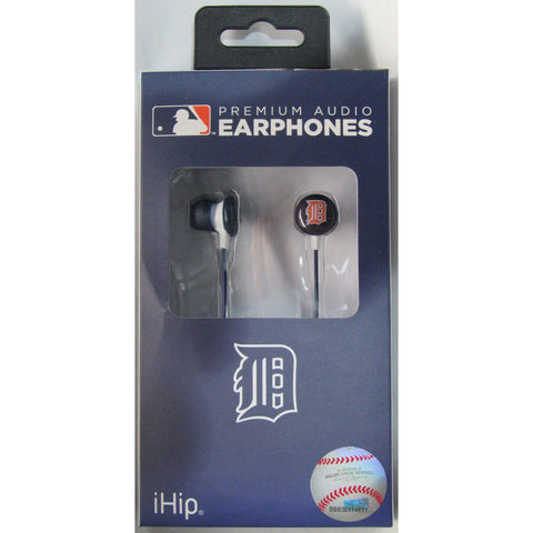 MLB Team Logo Earphones Detroit Tigers By iHip