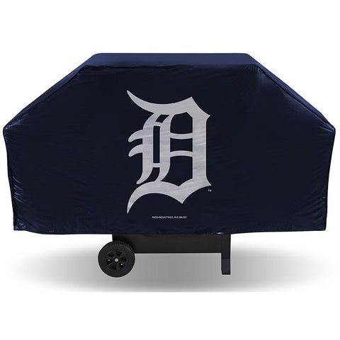 MLB Detroit Tigers 68 Inch Vinyl Economy Gas / Charcoal Grill Cover
