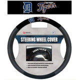 MLB POLY-SUEDE MESH STEERING WHEEL COVER DETROIT TIGERS