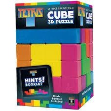 Tetris 3D Puzzle Cube 16 Pieces Masterpieces Puzzles Co.