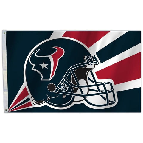 NFL 3' x 5' Team Helmet Flag Houston Texans by Fremont Die