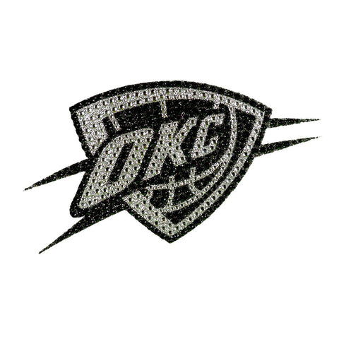 NBA Oklahoma City Thunder Bling Emblem Adhesive Decal By Team ProMark