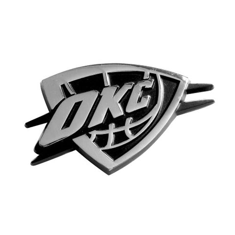 NBA Oklahoma City Thunder 3-D Chrome Heavy Metal Emblem By Team ProMark