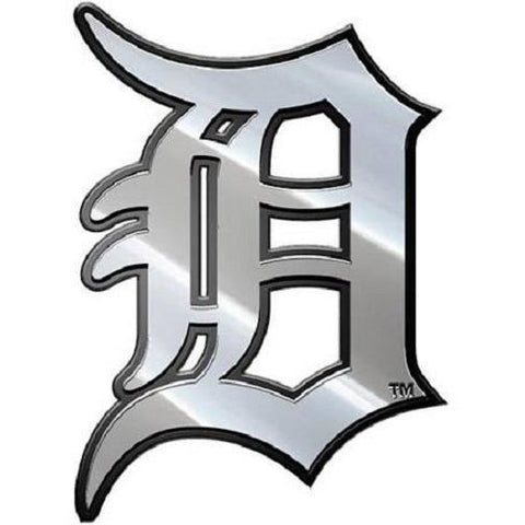 MLB Detroit Tigers 3-D Chrome Heavy Metal Emblem By Team ProMark