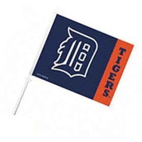MLB Alt. Logo Detroit Tigers Window Car Flag RICO Industries or Fremont Die