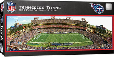 NFL Tennessee Titans Panoramic 1000pc Puzzle by Masterpieces Puzzles