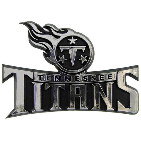 NFL Tennessee Titans 3-D Auto Team Chrome Emblem Team ProMark