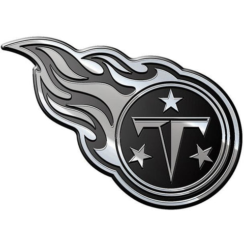 NFL Tennessee Titans 3-D Chrome Heavy Metal Emblem By Team ProMark