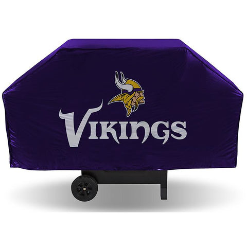 NFL Minnesota Vikings 68 Inch Purple Vinyl Economy Gas / Charcoal Grill Cover