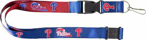 MLB Philadelphia Phillies Reversible Lanyard Keychain 23″ Long 3/4″ Wide by Aminco