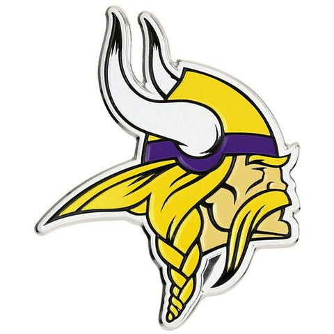 NFL Minnesota Vikings 3-D Color Logo Auto Emblem By Team ProMark