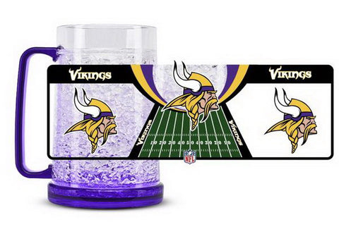 NFL Minnesota Vikings 16oz Crystal Freezer Mug by Duck House
