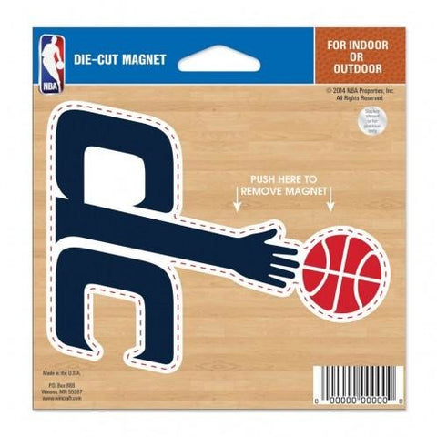 NBA Washington Wizards Logo 4 inch Auto Magnet by WinCraft