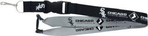 MLB Chicago White Sox Reversible Lanyard Keychain 23″ Long 3/4″ Wide by Aminco
