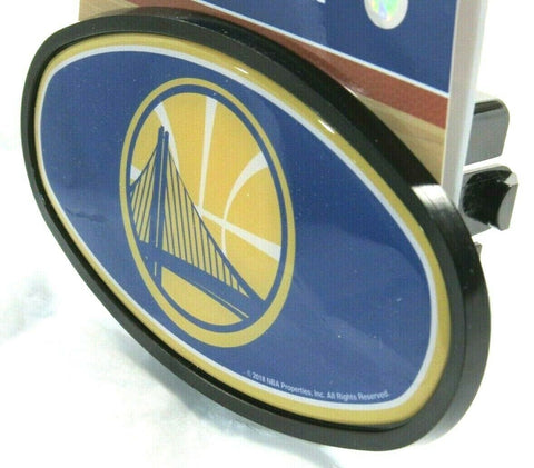 NBA Golden State Warriors Oval Trailer Hitch Cap Cover Universal Fit WinCraft