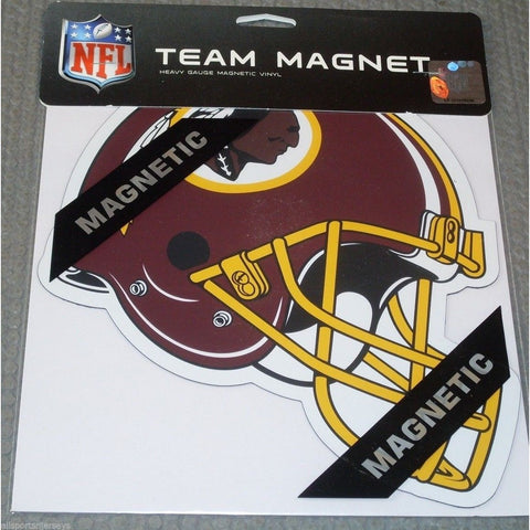 NFL Washington Redskins 8 Inch Auto Magnet Die Cut Helmet by Fremont Die