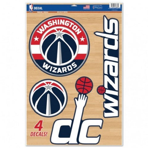 NBA Washington Wizards Ultra Decals Set of 5 By WINCRAFT