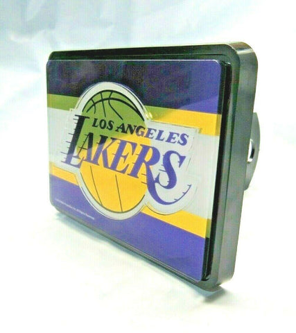 NBA Los Angeles Lakers Laser Cut Trailer Hitch Cap Cover Universal Fit WinCraft