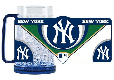 MLB New York Yankees 16oz Crystal Freezer Mug by Duck House