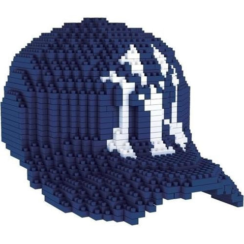 MLB New York Yankees Hat Shaped BRXLZ 3-D Puzzle 1125 Pieces