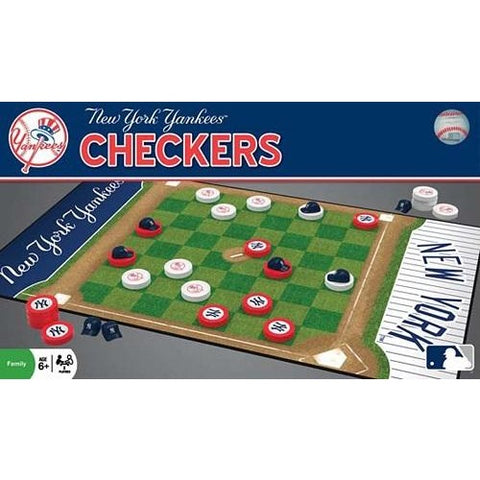 MLB New York Yankees Checkers Game by Masterpieces Puzzles Co.