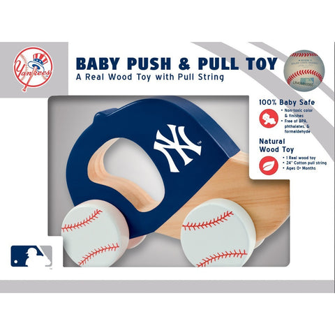 MLB Real Wood Baby Push & Pull Toy by MasterPieces Puzzle Co.