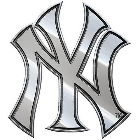 MLB New York Yankees 3-D Chrome Heavy Metal Emblem By Team ProMark