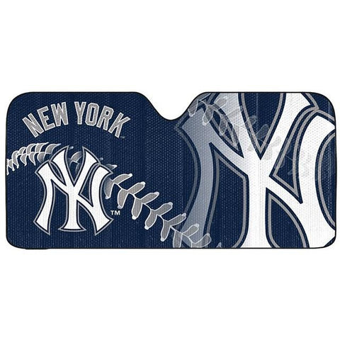 MLB New York Yankees Automotive Sun Shade Universal Size Team ProMark