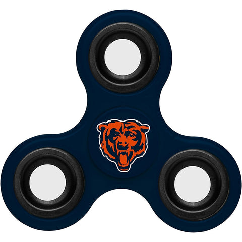 NFL Chicago Bears 3-Way Fidget Spinner By Forever Collectibles