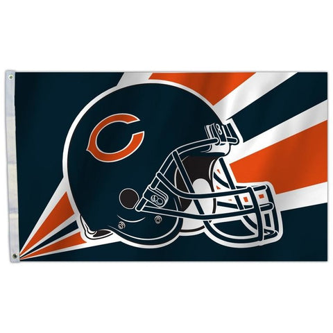 NFL 3' x 5' Team Helmet Flag Chicago Bears by Fremont Die