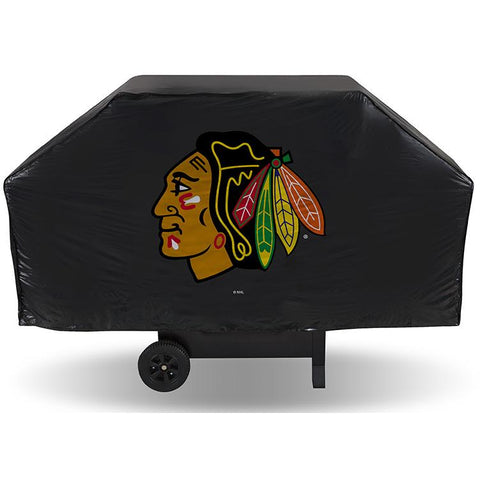 NHL Chicago Blackhawks 68 Inch Vinyl Economy Gas / Charcoal Grill Cover