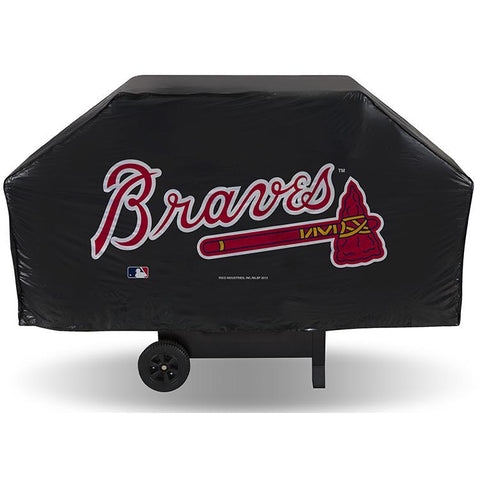 MLB Atlanta Braves 68 Inch Vinyl Economy Gas / Charcoal Grill Cover
