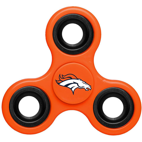 NFL Denver Broncos 3-Way Fidget Spinner By Forever Collectibles