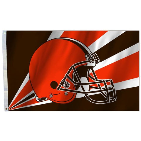 NFL 3' x 5' Team Helmet Flag Cleveland Browns by Fremont Die