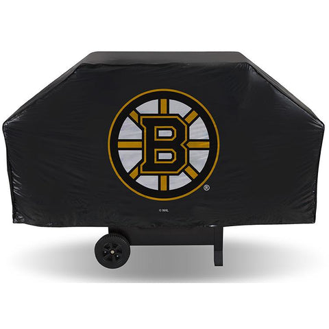 NHL Boston Bruins 68 Inch Vinyl Economy Gas / Charcoal Grill Cover