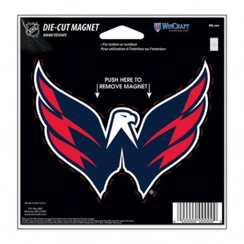 NHL Magnet Washington Capitals Alt. Logo 4 inch Auto Magnet by WinCraft