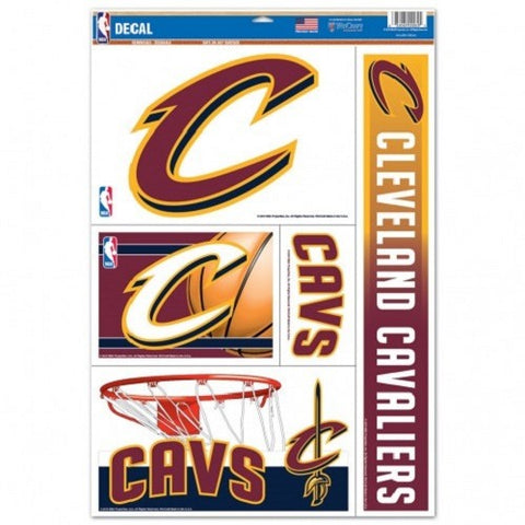 NBA Cleveland Cavaliers Ultra Decals Set of 5 By WINCRAFT