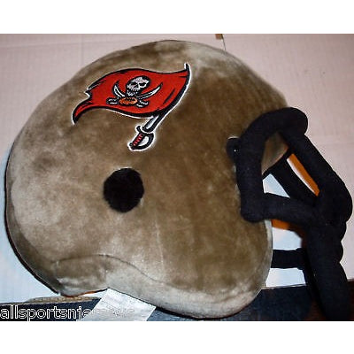 NFL Plush Helmet Shaped Pillow Tampa Bay Buccaneers By Northwest