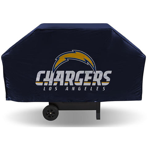 NFL Los Angeles Chargers 68 Inch Vinyl Economy Gas / Charcoal Grill Cover