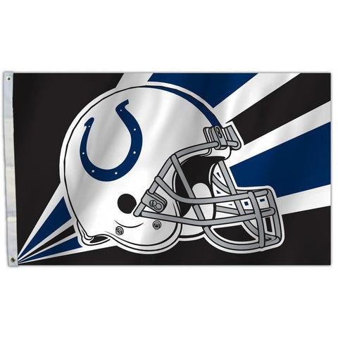 NFL 3' x 5' Team Helmet Flag Indianapolis Colts by Fremont Die