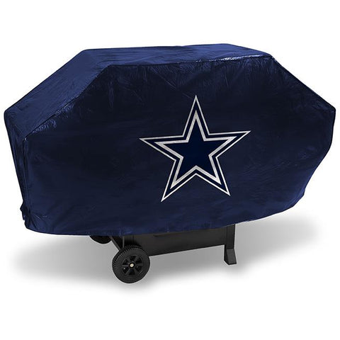 NFL Dallas Cowboys 68 Inch Deluxe Blue Vinyl Padded Grill Cover by Rico Industries