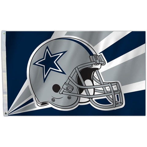 NFL 3' x 5' Team Helmet Flag Dallas Cowboys by Fremont Die
