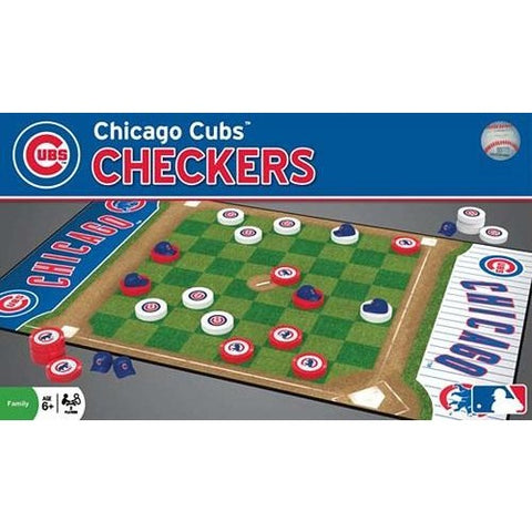 MLB Chicago Cubs Checkers Game by Masterpieces Puzzles Co.